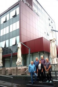 Delegacija Crvenog krsta i SO Paracin sa predstavnicima Crvenog krsta Doboj
